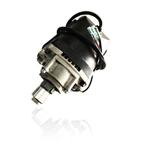 电锯串激电机